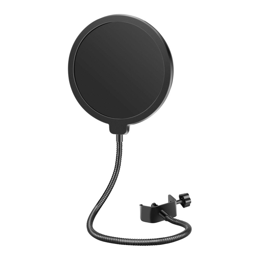 Neewer Professional Microphone Pop Filter Mask Shield Compatible With Blue Yeti And Any Other Microphone, Dual Layered Wind Pop