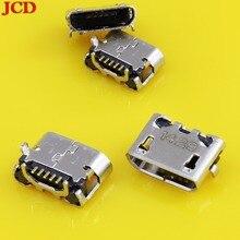 цена на JCD Micro USB Jack 5 Pin For Asus Me170 K012 Micro USB Connector USB Jack Charging Charge Port Socket Micro USB Charging DC jack
