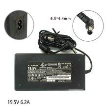 19.5V 6.2A 120W 6.5*4.4mm כוח מטען עבור Sony ACDP 120E01 ACDP 120E02 ACDP 120N01 ACDP 120N02 LCD טלוויזיה מתאם
