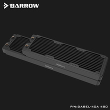 Copper Radiator Barrow Waterways Dabel-40a 120mm Fans 40mm 12-Circulating Thickness Suitable-For