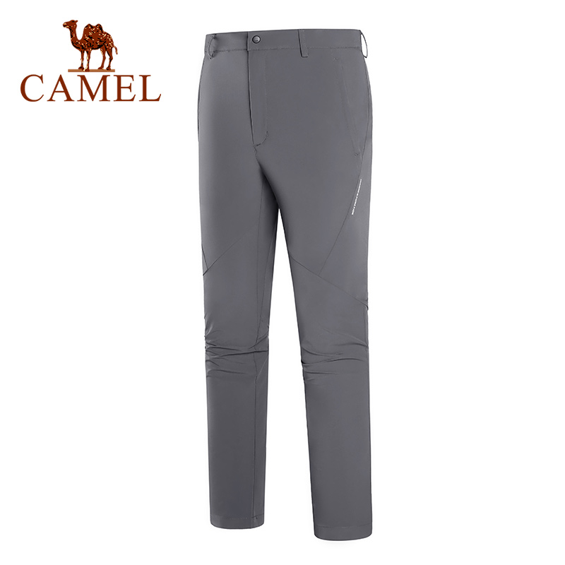 Camel Outdoor Quick-drying Men's Pants Man Spring Comfortable Wear-resistant Pants Female Breathable Pants Men Clothing