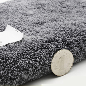 Image 3 - 3 sztuk 800GSM Super ręcznik z mikrofibry do czyszczenia samochodu Auto mycie szkła do czyszczenia gospodarstwa domowego grube ręczniki akcesoria samochodowe
