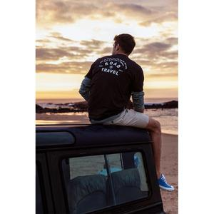 Image 2 - SIMWOOD 2020 summer new jeep print t shirt men 100% cotton letter back short sleeve t shirt plus size top tees SI980799