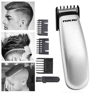 Image 3 - חשמלי שיער קליפר מיני שיער גוזם מכונת חיתוך זקן בארבר תער לגברים סגנון כלים במלאי זרוק חינם