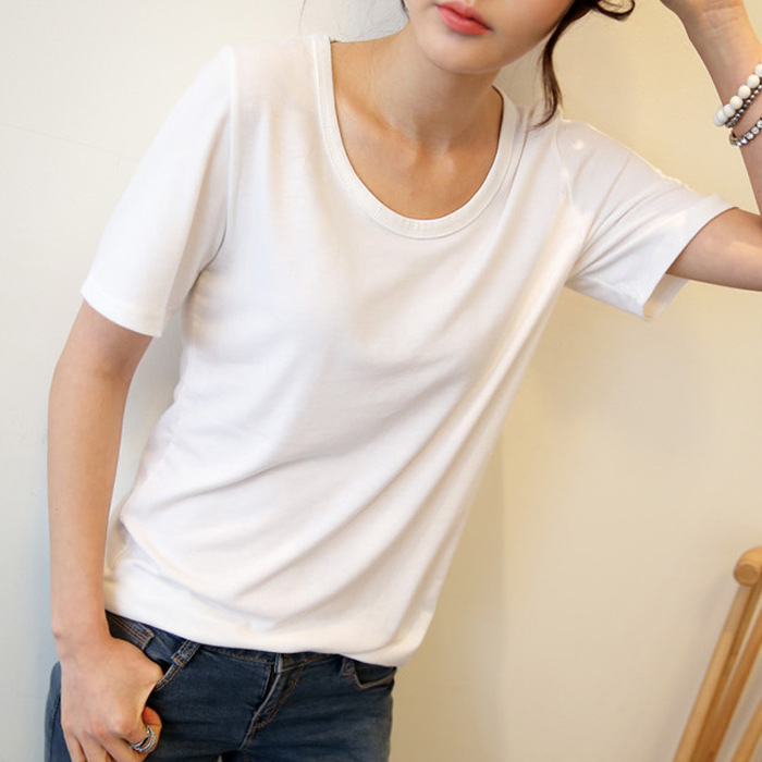 New Cotton T-shirt Women Printing T Shirt Summer Clothing Female 2018