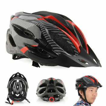 Capacete de ciclismo de bicicleta ultraleve eps + pc capa mtb estrada capacete integralmente-mold ciclismo capacete 2020 ciclismo com segurança boné 1