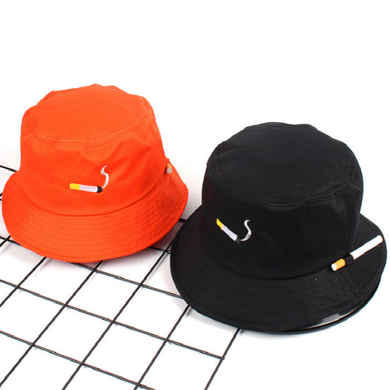 NO CHILL Bucket Hat Hip Hop Cotton Cigarette Fisherman Hat Outdoor Sports Summer Men Hat Bob Hiking Fishing Cap Male Panama
