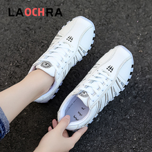 Laochra Spring New Arrival Women Sneakers Shoes Outdoor Fashion Shoes Comfort Casual Sneakers For Females university females