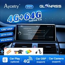1280*480P ips Android 9,0/7,1 4G 64G авто gps радио для BMW X5 E70 X6 E71 2007-2013 CCC CIC система навигации ГЛОНАСС без DVD ПК