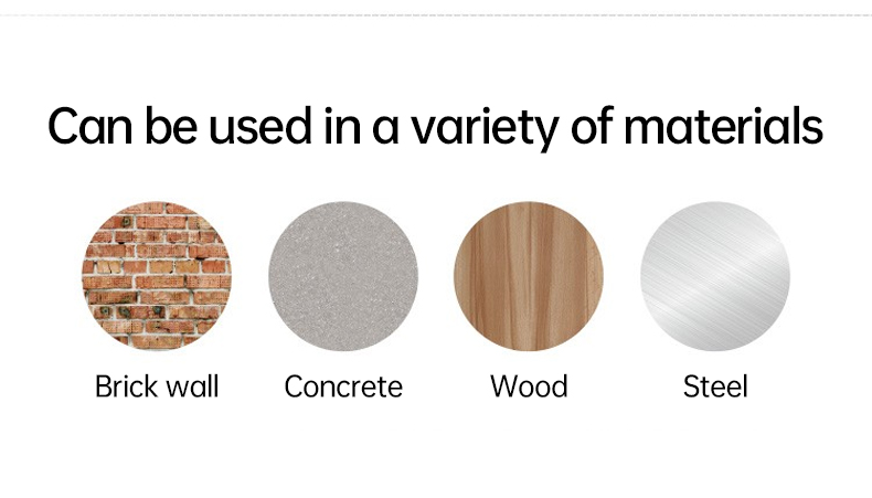 can be used in a variety of materials