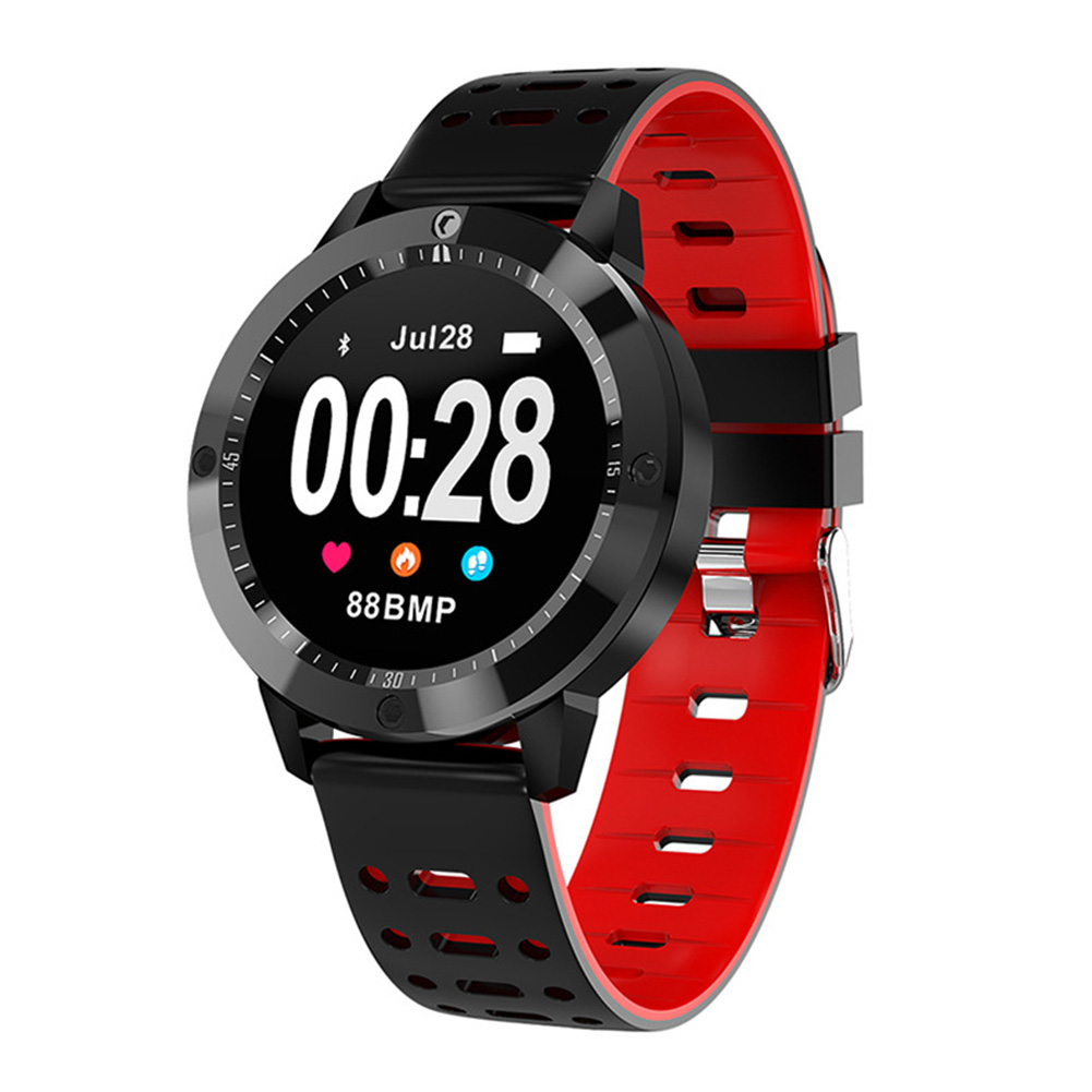CF58 For IOS Android Wristwatch Call Reminder Waterproof Bluetooth Sports Bracelet Multifunctional Heart Rate Monitor