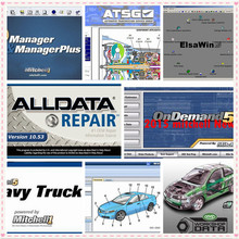 Alldata and mitchell software Auto Repair data Alldata 10.53 Mitchell ondemand5 2015v Vivid workshop data ElsaWin 1TB HDD USB3.0 2018 hot sale alldata software alldata 10 53 and mitchell ondemand 2015v auto repair software all data manager plus elsawin 5 3