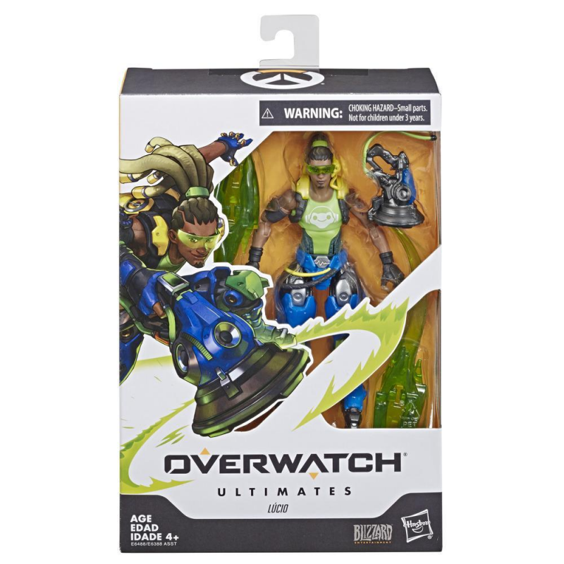 15cm Hasbro Lcio Overwatch Anime characters Action PVC Collection Model Toy Anime Figure Toys For Kids
