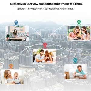 Image 5 - Techage 2MP 5MP אבטחת מצלמה אלחוטית Wifi IP המצלמה שתי דרך אודיו AI CCTV וידאו חיצוני מלא צבע ראיית לילה TF כרטיס P2P