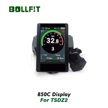 Bollfit Tongsheng Tsdz 2 Mid Drive Motor Lcd Display 850C Kleur Screen Display Voor Elektrische E Fiets Conversie Kit