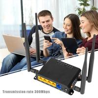 X10 4G 300Mbps Wifi Router 2.4GHz Wireless Network Booster Designed for Outdoor Use Strong Stability Dongle Support VPN