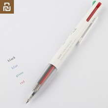 Nieuwe Youpin Kaco Gemakkelijk 4 In 1 Multifunctionele Pennen 4 Kleuren 0.5 Mm Zwart Blauw Rood Groen Refill Gel Pen voor Kantoor Student
