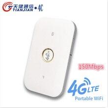 Wireless 3G 4G MIFI Router Unlock CAT4 150Mbps Mobile Modem 4g Wifi Sim Card LTE FDD TDD Pocket Battery Network Modem