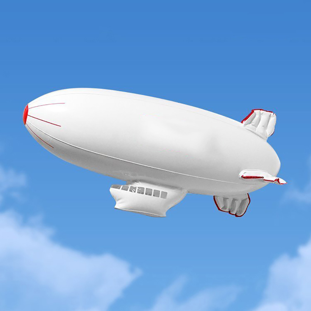 PVC Inflatable Airship Model Spaceship Toys For Kid Children Birthday Gift  Inflatable Summer Outdoor Funny Toys