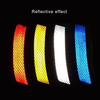 Reflective Lamp Eyebrow Captivating Decal Sports Styling Auto Racing Warning Vinyl Graphic Decoration image