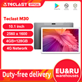Teclast M30 10,1 дюймов планшет 2560x1600 2,5 K IPS Экран 4G планшетофон (плафон) MT6797 X27 Deca Core, размер экрана 4 Гб Оперативная память 128 Гб Встроенная память ...