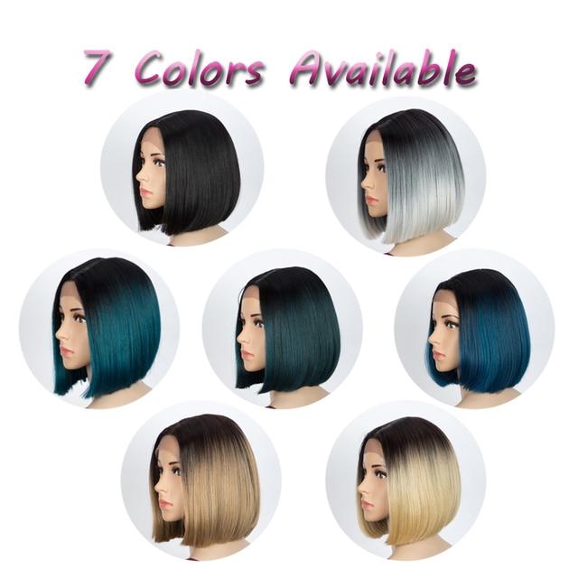 Купить синтетические прямые парики для женщин 10 дюймов короткие светло картинки цена