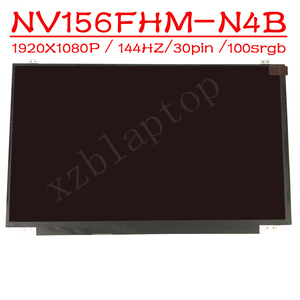 NV156FHM-N4B para videojuegos, resolución de 144Hz, pantalla 1920X1080 para videojuegos, interfaz EDP de 30 Pines, NV156FHM-N4B NTSC de 72%