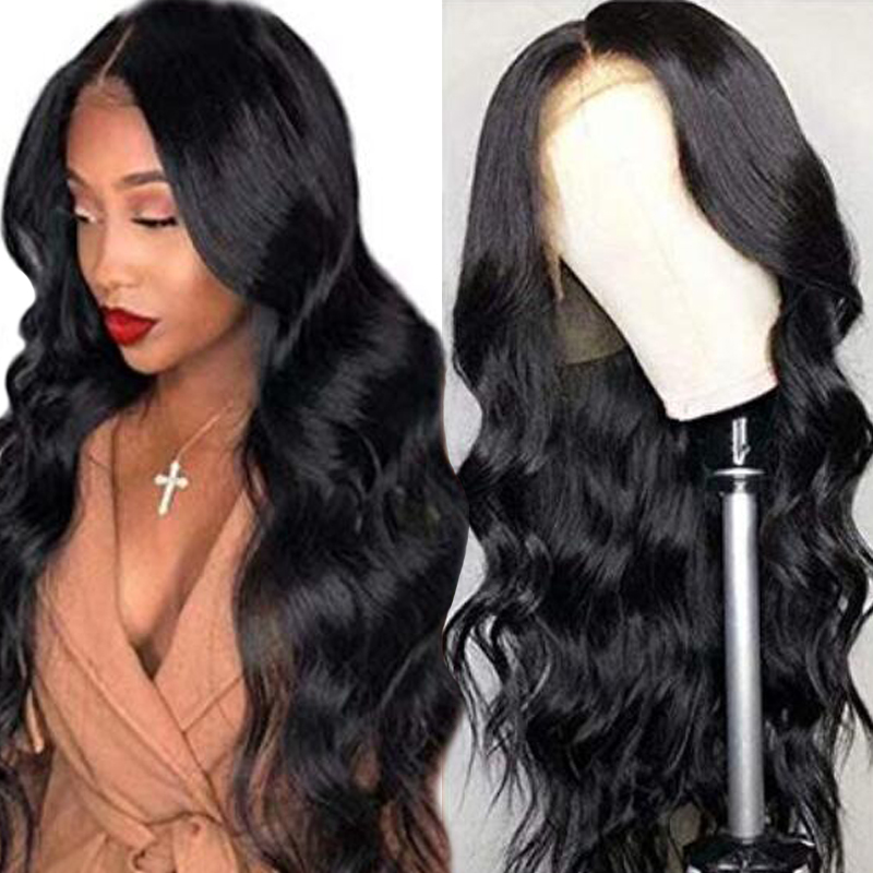 Silk Base Lace Frontal Human Hair Wigs For Black Women 13*4 Lace Frontal Wig Remy Hair Peruvian Body Wave Wig Dorisy Hair