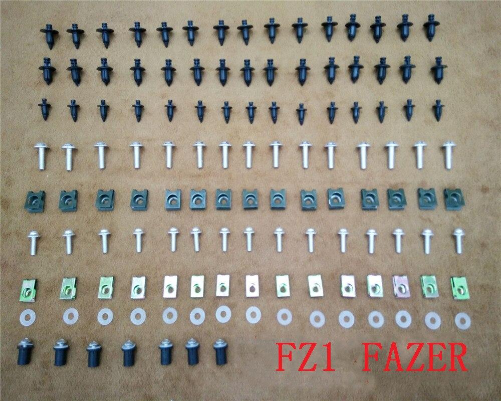 Fairing Bodywork Kit Bolts Screws For Fit For   YAMAHA   FZ1 FAZER  2001-2005