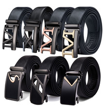 Barry.Wang 110cm-160cm Fashion Designer Automatic Buckle Genuine Leather Belts Business Male Alloy buckle Belts For Men Business belts men 140cm 150cm 160cm 2017new fashion business casual male belt strong men best popular selling goods cool choice hot sale