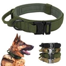 Военный Тактический ошейник для собак немецкий Шепард средние