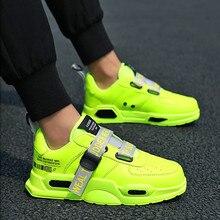 Gündelik erkek ayakkabısı nefes erkek örgü koşu ayakkabıları klasik Tenis Masculino ayakkabıları Zapatos Hombre Sapatos ayakkabı