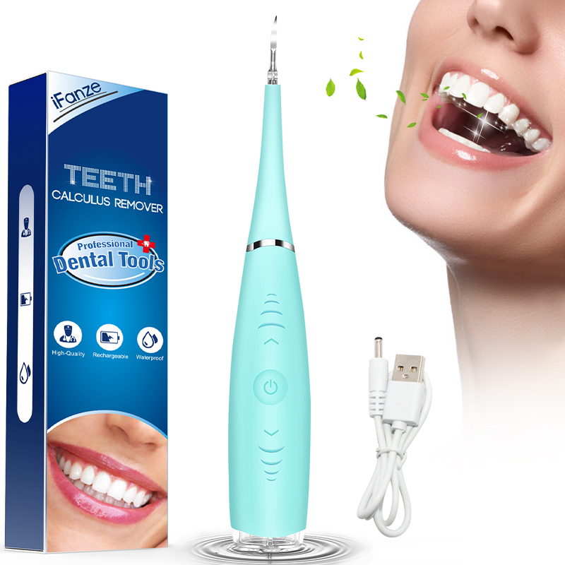 Dental Tartar Remover,Portable Electric Sonic Dental Scaler Tooth Calculus Remover Teeth Whitening Dentist Tool Dropshipping
