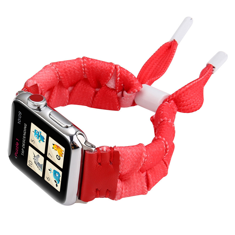 Woven mesh strap with high quality soft sports strap advanced woven strap replacement strap for apple watch 40mm 20O17 (38)