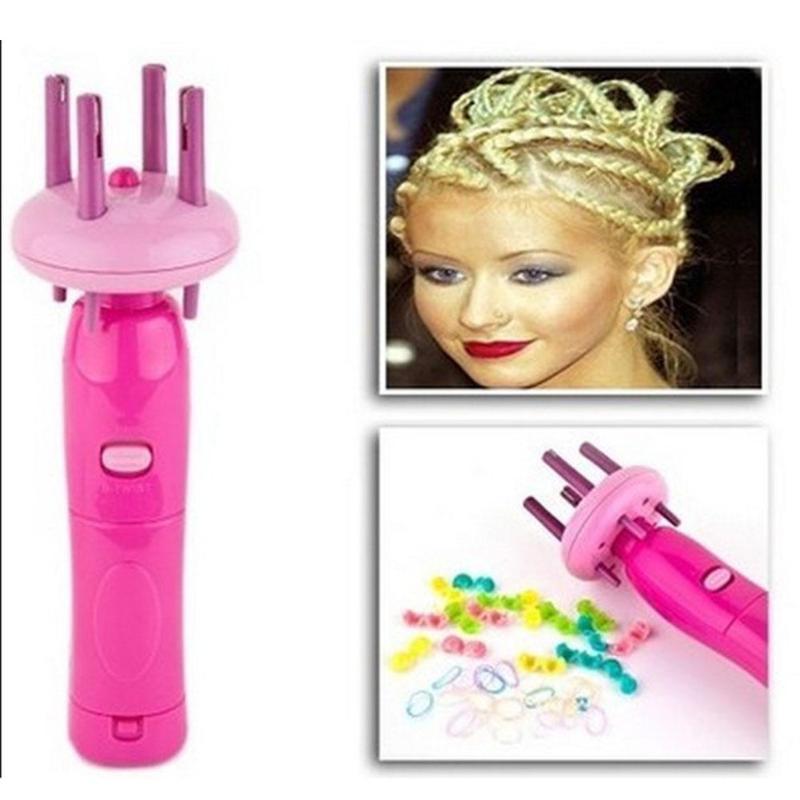 Electric Hair Braider Automatic Twist Braide Knitting Device Kits Hair Wave Roller Machine Braiding DIY Women Hair Styling Tool