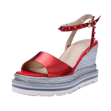 New chaussures femme plateforme sandalias alpargata mujer summer shoes woman platform sandals