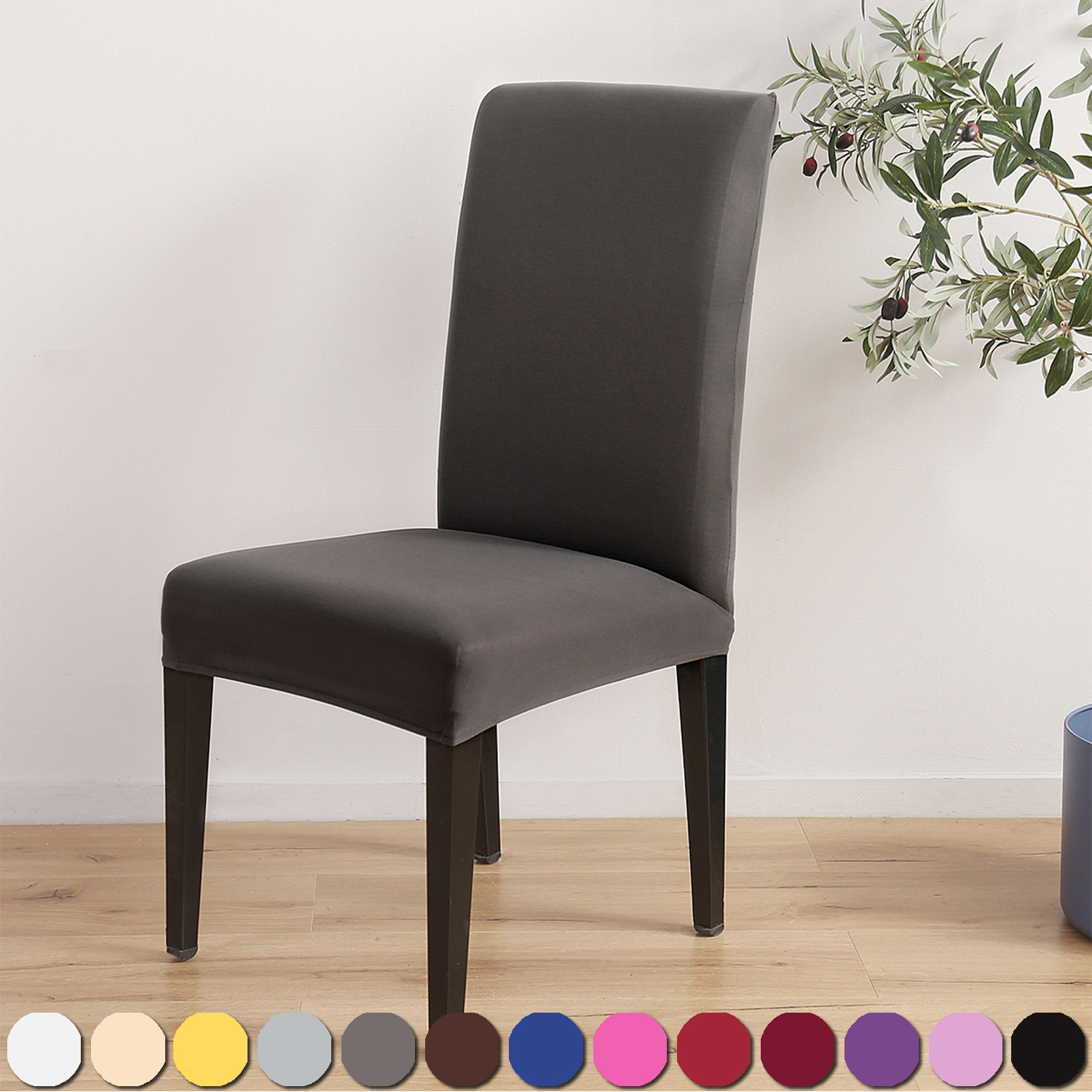 Spandex Stretch Dining Chair Covers Wedding Banquet Party Hotel Decor