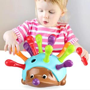Sorter Educational Toys Magnetic Worm Hedgehog Learning Resources Sorter with Numbers The Fine Motor Toy Sensory Counting skills