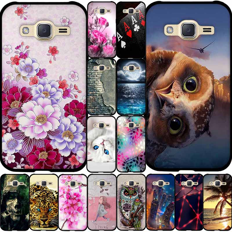 For Samsung Galaxy J2 2015 Case Soft TPU Silicone Cover Phone Case For Samsung J2 2015 J200 J200H J200F SM-J200F SMJ2(5) Cover image