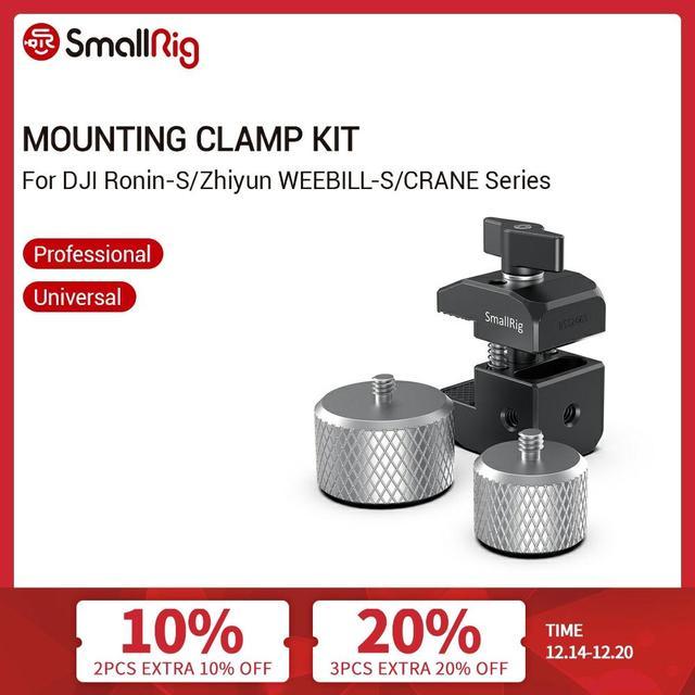 Smallrig Voor Bmpcc 4K Camera Contragewicht Montage Klem Voor Dji Ronin S/Ronin Sc En Zhiyun weebill/Kraan Serie Gimbals 2465