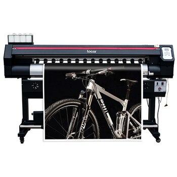 Transfer Paper Inkjet Printer 1.6m Eco Solvent Printer Locor Plotter de Impresion Reliable Quality Outdoor Inkjet Banner Printer