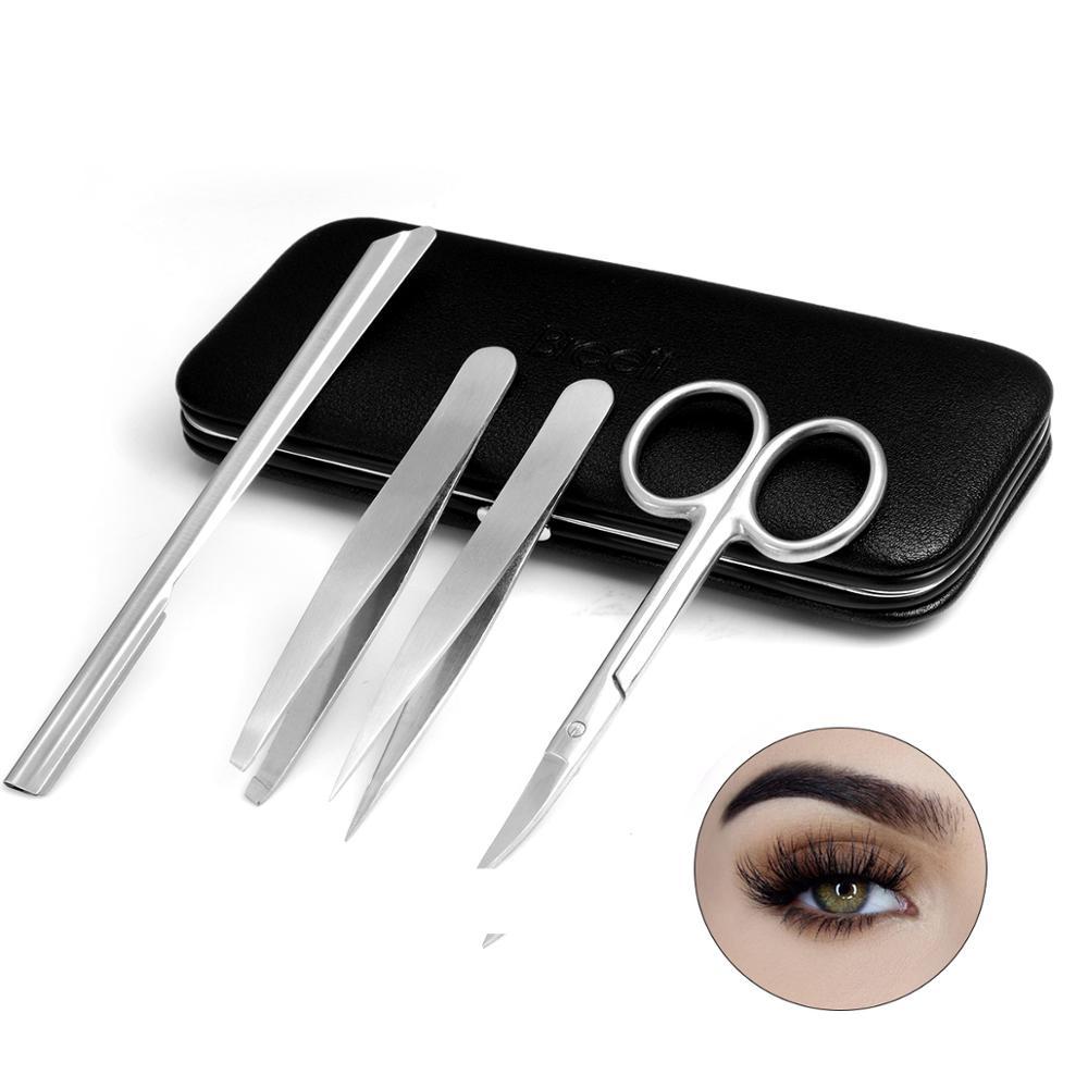 Eyebrow Trimmer Kit Face Hair Razor Eyebrow Shaper Shaver For Women Razor Facial Hair Remover Painless Expoliates Dead Skin Tool