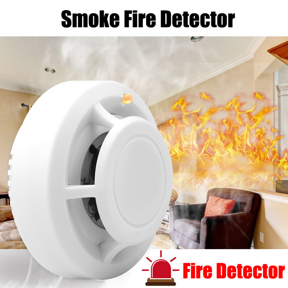 Sensor Alarm Smoke-Detector Fire Home-Security Wireless High-Sensitive Independent Stable title=