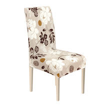 Chair Cover New Spandex Dining Room Chairs Cover Stretch Kitchen Seat Protector Case for Wedding Hotel Banquet Living Room