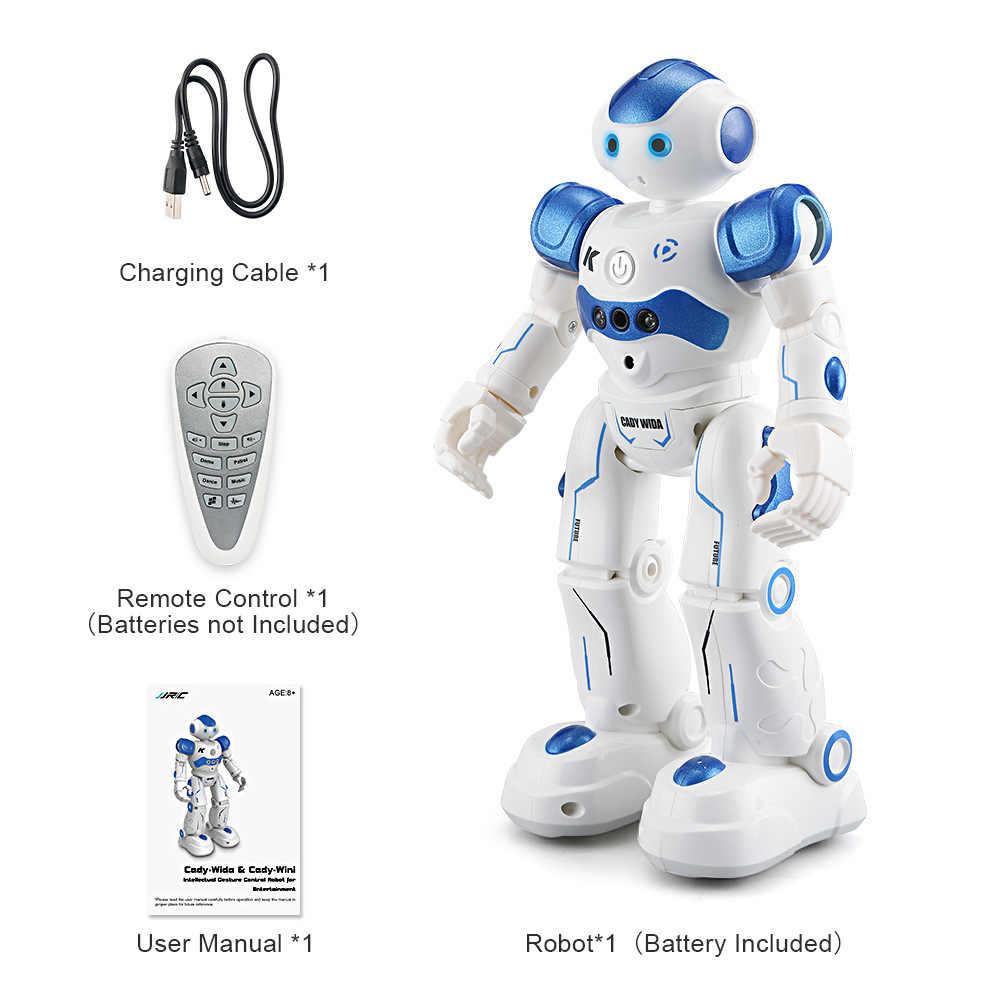 Gesto Sensing Controle RC Robot USB Cobrando Ação Figura Dança Cantando Brinquedo Brinquedos Educativos para Crianças