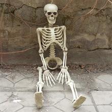 36inch 90cm Halloween Skeleton 100% Plastic Children Size for Decorations