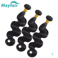 Mayfair Hair Peruvian Body Wave Hair Weave Bundles Natural C