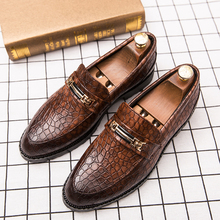 Luxury Patent Leather Men Shoes Business Wedding Dress Double Monk Strap Slip on Brown Black Casual Loafers