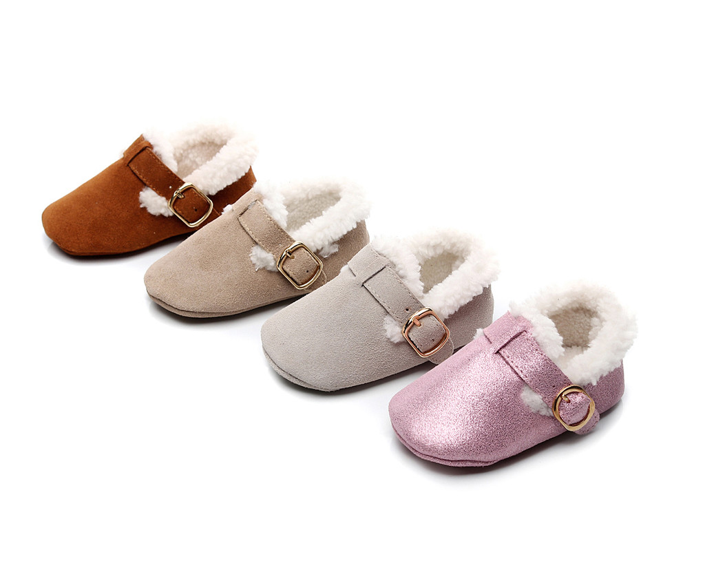 Baby Boots Infant Newborn Girls Boys Cartoon Shoes First Walkers Shoes Kids Baby Shoes Plus Velvet Sapato Infantil 2020 Winter