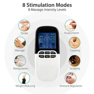 Image 5 - 2 в 1 электрический стимулятор нерва, массажер для носа, для лечения ринитов, синусита, аллергии, лазерная терапия, лечение с электродными прокладками